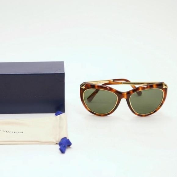93db3cdbf27 Louis Vuitton Emmanuelle Sunglasses Z2360W 91X